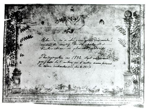 Hércule Florence - Diploma de Maçonaria - 1833