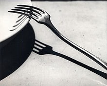 André Kertész - La Fourchette - 1928