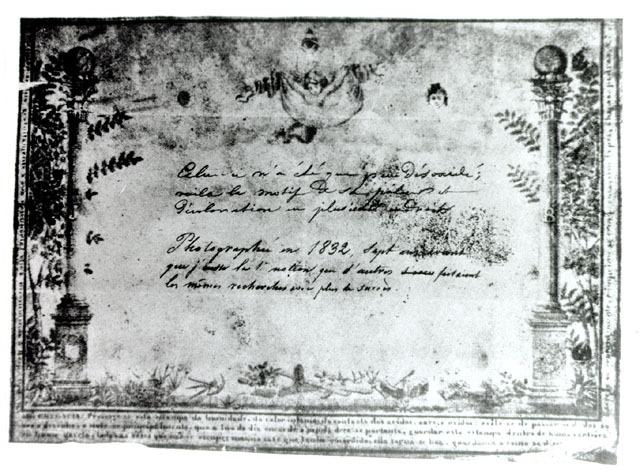 História da Fotografia - Hércule Florence - Diploma de Maçonaria - 1833
