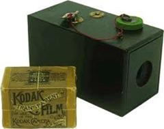 História da Fotografia - Kodak Brownie