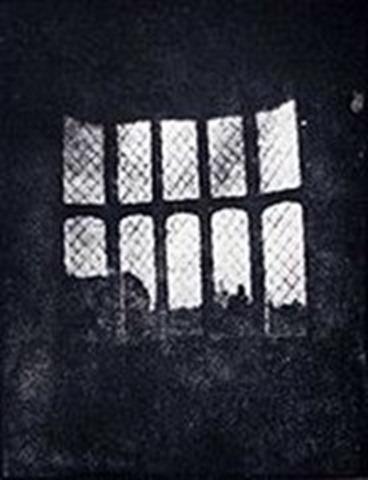 História da Fotografia - William Talbot - Vista da Janela da Abadia Locock