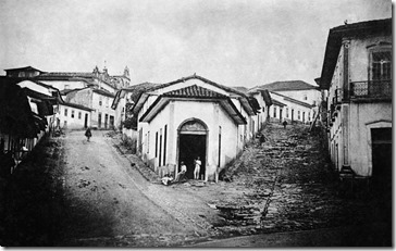 Militão Augusto de Azevedo - Ladeira do Meio e ladeira de São Francisco - 1862