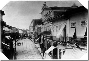 Militão Augusto de Azevedo - Rua da Imperatriz - 1887