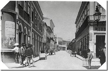 Militão Augusto de Azevedo - Rua da Quitanda - 1887