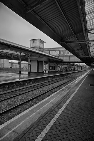 Newton Abbot's Train Station